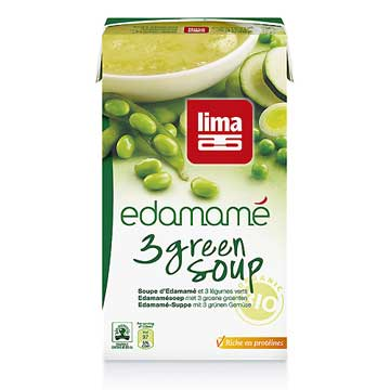 Soup Edamamé 3 Green
