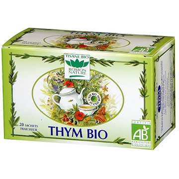 Tisane Bio au thym Romon Nature
