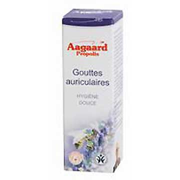 Gouttes auriculaires Aagaard Propolis