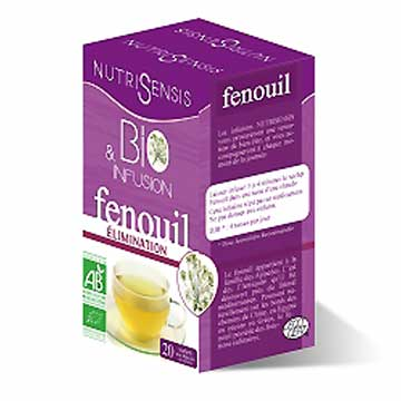 Tisane bio Fenouil - Elimination Nutrisensis